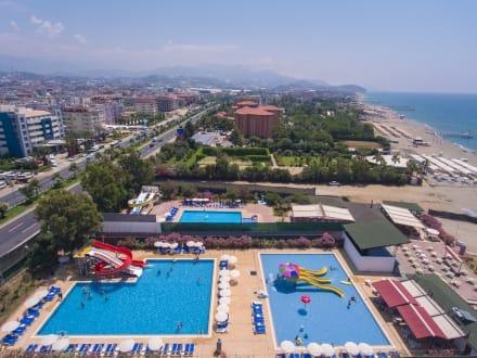 islami otel havuzları